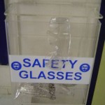 Safety Glasses Holder