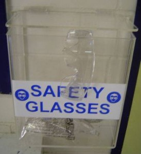 MSDS Holders - Safety Glasses Holder