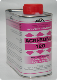 120-ACRI-BOND Solvent Cement Adhesives