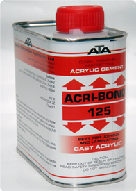 125-ACRI-BOND Solvent Cement Adhesives