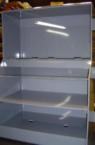 PVC Battery Shelf