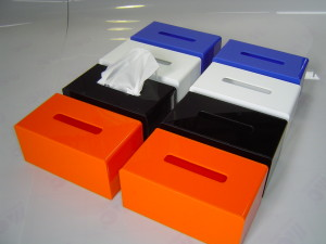 Acrylic Tissue Box Covers