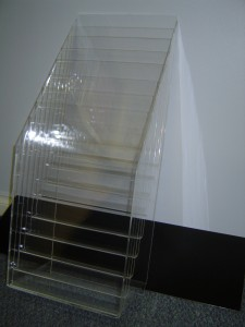 Magazine Rack - Pacific West Plastics