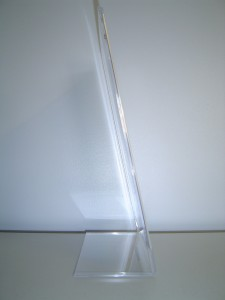 Menu Holder - Pacific West Plastics
