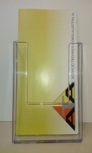 Brochure Holder - Pacific West Plastics