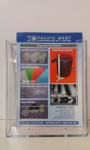 A4 Brochure Holder - Pacific West Plastics
